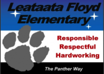 We teach, model and reinforce students who display the Panther Way.