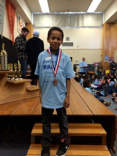 Anthony Trevino - 3rd place / 3rd Grade